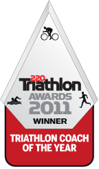 Jack Maitland - 220 Triathlon Coach of the Year 2011